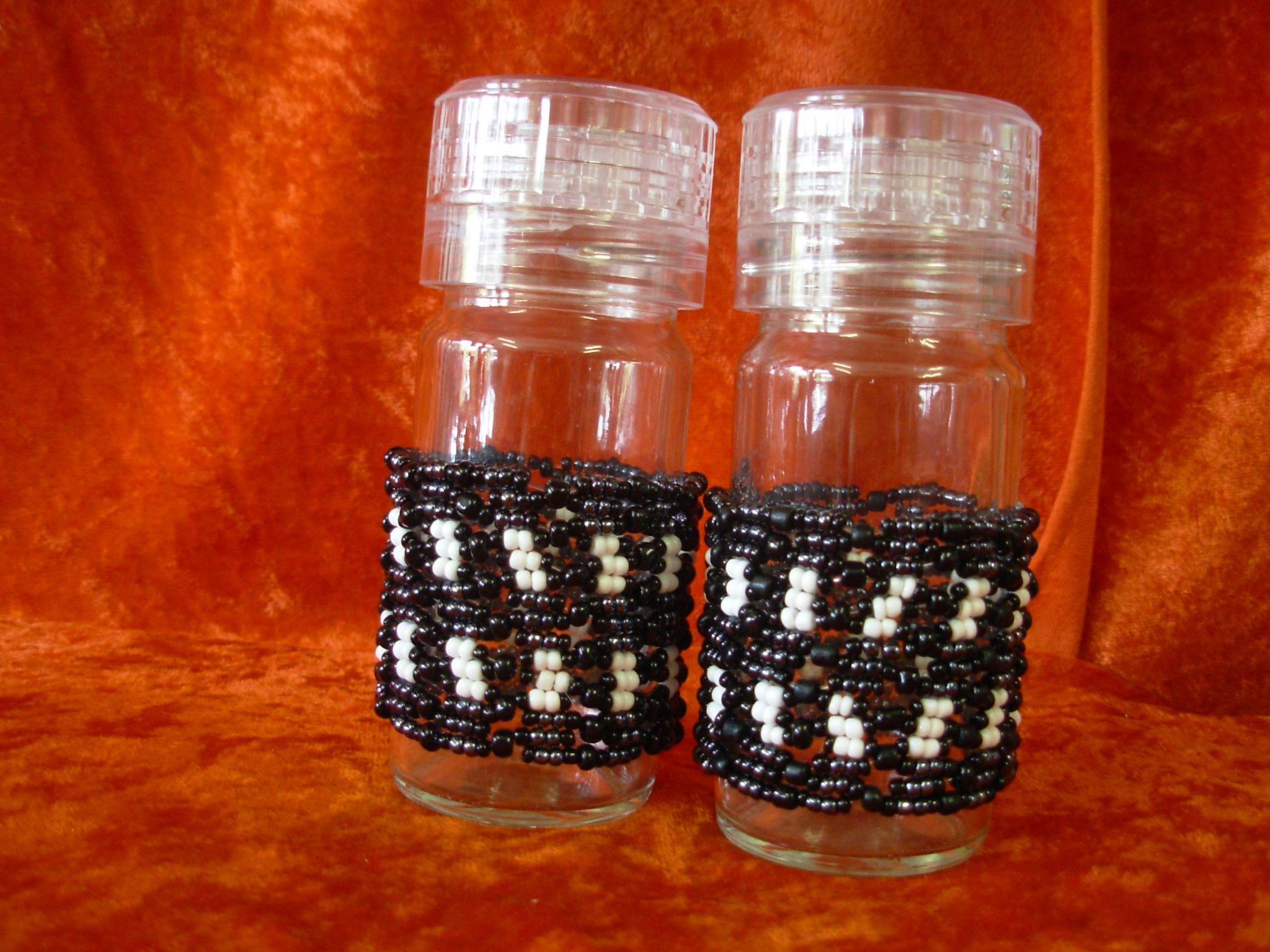 Beaded Salt & Pepper Grinder